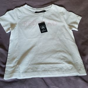 NWT kids Brunette the Label t shirt. Size 4/5
